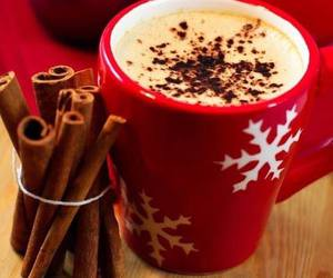 christmas, chocolate, and coffee image