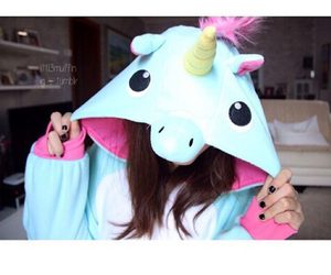 unicorn and swag image
