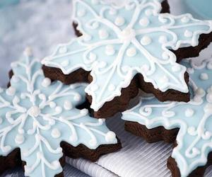 christmas, Cookies, and winter image
