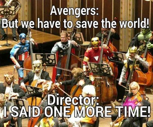 Avengers and band image