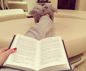 book, reading, and relax image