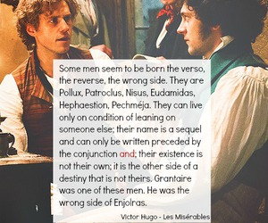 les miserables, les mis, and enjolras image