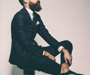 beard, style, and classy image