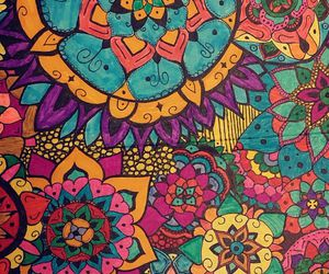 colours and pattern image
