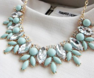 dress, fashion, and necklace image