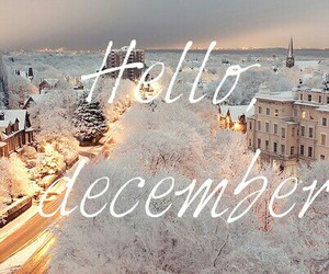 christmas, december, and snow flakes image