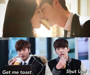 funny, park shin hye, and lee min ho image