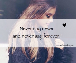 saying and forever image