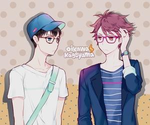 anime, yaoi, and oikawa image