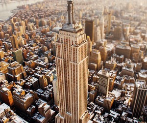 cool, nyc, and empire state building image