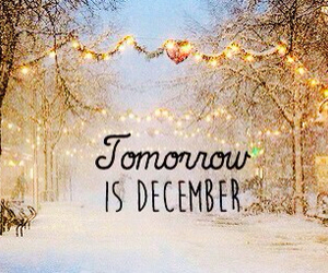 december and tomorrow image