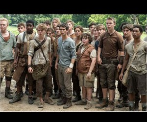 thomas sangster, le labyrinthe, and the maze runner image