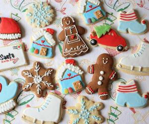 Cookies and christmas-cookie image