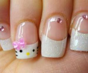 nails and hello kitty image
