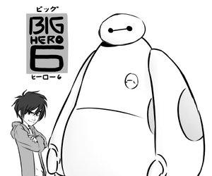 disney, movie, and big hero 6 image