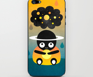 iphone, skin, and society6 image