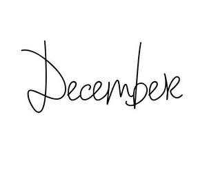 december and Christmas time image