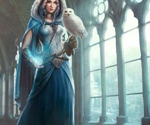 art, fantasy, and girl image