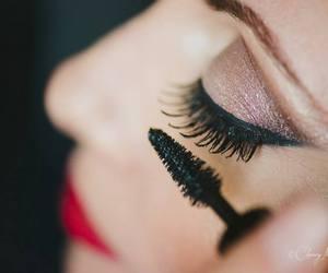 makeup and mascara image