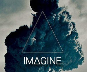 blue, grey, and imagine image