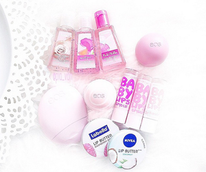 eos, pink, and love image