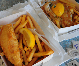 fish, food, and chips image
