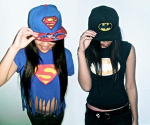 batman, superman, and swag image