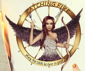 catching fire, drawing, and art image
