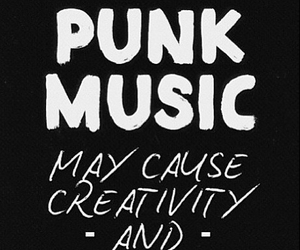 music, punk, and creativity image