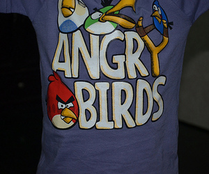 angry birds, t-shirt, and photography image