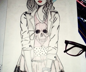 drawings, fashion, and fashion illustration image