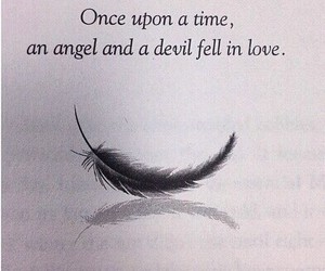 Devil, angel, and love image