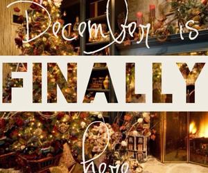 christmas, finally, and december image