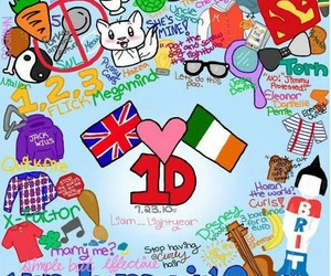 irland, one direction, and 1d image