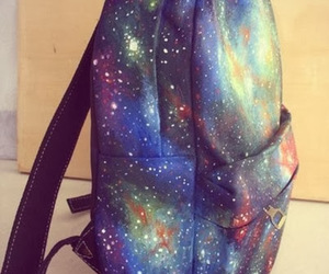 backpack and galaxy image