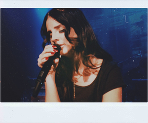 lana del rey and girl image
