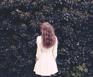 alone, beautiful, and hair image