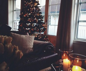 christmas, winter, and candle image