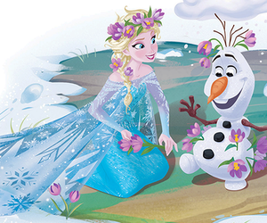 olaf, queen elsa, and frozen . frozen elsa image