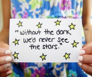 stars, tumblr, and quote image