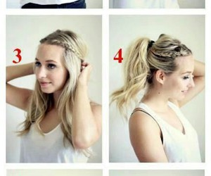 braid, hair, and tutorials image