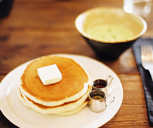 photography, pancakes, and food image