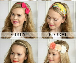 girly, hair, and ideas image