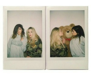 kylie jenner, bear, and friends image