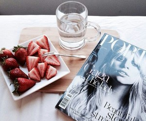 collection, strawberry, and magazine image