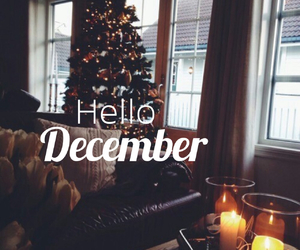 december, background, and hello image