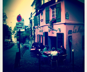 house, paris, and pink image