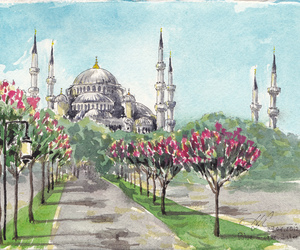 istanbul and sultanahmet image