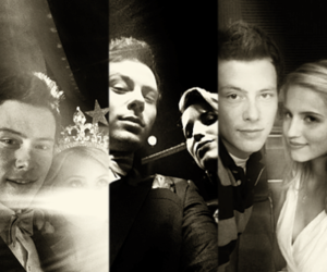 cory monteith, dianna agron, and twitter pics image