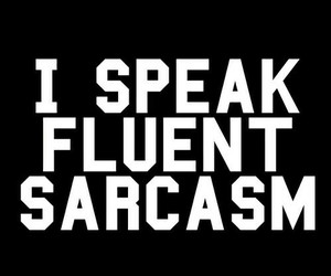 sarcasm, wallpaper, and sarcasm quotes image